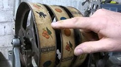 How to Replace Vintage Slot Machine Reel Strips - PACE KITTY One Arm Bandit