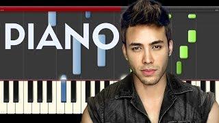 Prince Royce El Clavo Piano Midi tutorial Sheet app Cover Karaoke