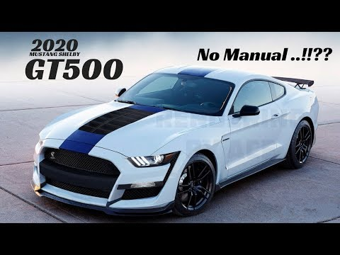 Ford Mustang Shelby GT  - What We Know So Far? || New Shelby GT
