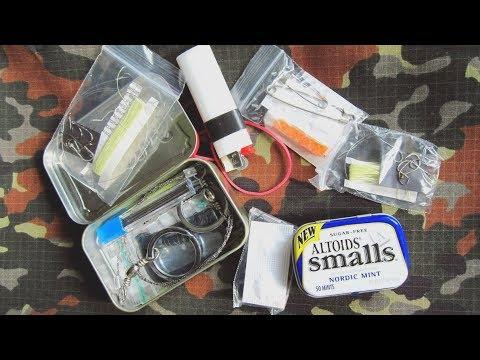 Набор для выживания - Mini Survival Kit. Первый вариант