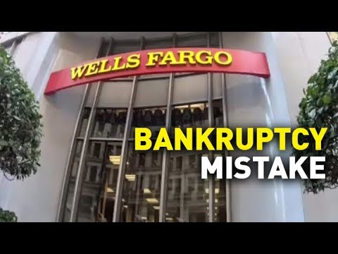 Wells Fargo Labels Customer 'Bankrupt,' But Is She?