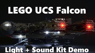 Install Demo: Brickstuff Light and Sound Kit for the LEGO UCS Millennium Falcon