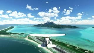 Microsoft Flight Simulator Xbox Series S Бора-Бора