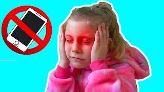 NU STA prea MULT in TELEFON !!! Video Educativ pentru Copii