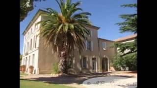 Magnifique propriété avec grande Maison de Maître XIXe siècle à vendre secteur Pezenas