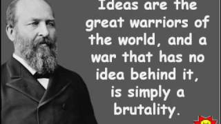 Creative Quotations from James A. Garfield for Nov 19