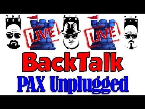 LIVE BackTalk: PAX Unplugged 2017