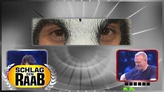 Spiel 3: Augen - Schlag den Raab
