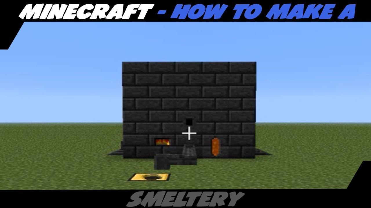 How to make a forge in minecraft tinkers construct