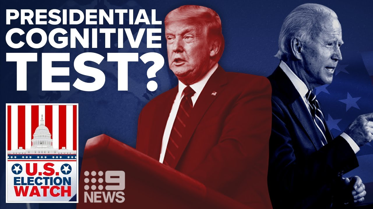 Trump, Biden and cognitive tests? | 2020 US Election Watch | 9News Australia