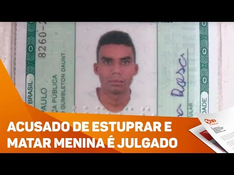 Acusado de estuprar e matar menina é julgado em Itu - TV SOROCABA/SBT