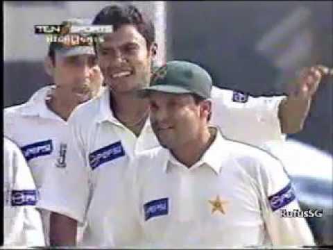 Danish Kaneria 5/46 vs South Africa 1st test 2003