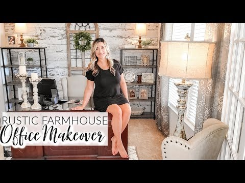 FARMHOUSE OFFICE MAKEOVER | DIY PEEL & STICK SHIPLAP | Cook Clean And Repeat 2019