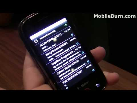 Motorola CLIQ / DEXT demo - part 1 of 2