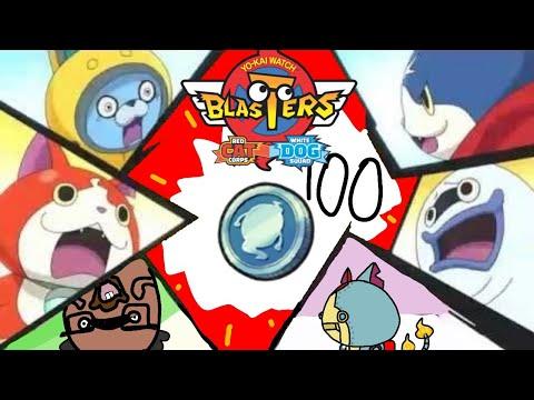 Yo Kai Watch Blasters 100 Special Coin Qr Codes Yo Kai Ejiper