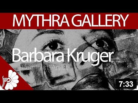 Barbara Kruger - Feminist Artist - American Conceptual/pop Artist
