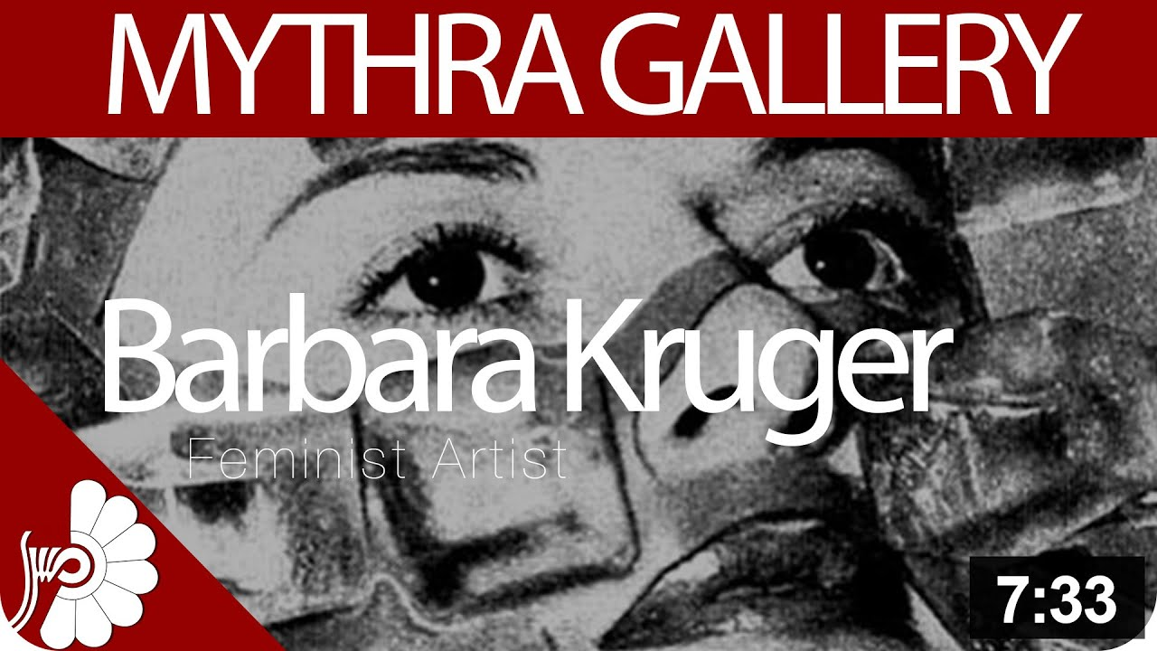 barbara kruger being an artist Barbara kruger is an american conceptual artist much of kruger's graphic work consists of black-and-white photographs with overlaid.