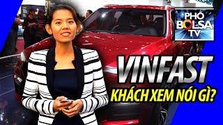 Khách xem triển lãm Paris Motor Show nói về xe VinFast: TUYỆT VỜI!