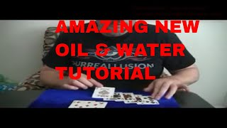 Free Magic Tricks New Oil & Water Royal Tutorial