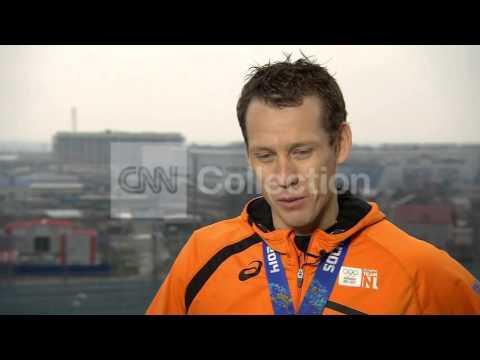 SOCHI:SPEED SKATER STEFAN GROOTHUIS INTVW 1