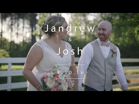 Jandrew and Josh's Wedding Video | Keeler Property