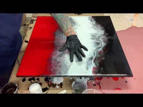 Resin Art - epoxy Painting / Mars Modern #contemporary