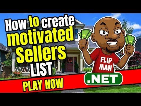 How To Create Motivated Sellers List | ListSource.com | MelissaData.com | FlipMan.net
