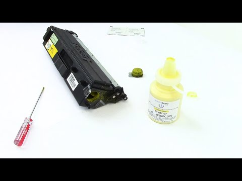 How To Refill Your HL-L8260cdw Toner Cartridge