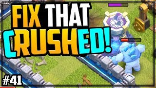 TOP Legend League Bases CRUSHED Clash of Clans Fix That Rush ep41