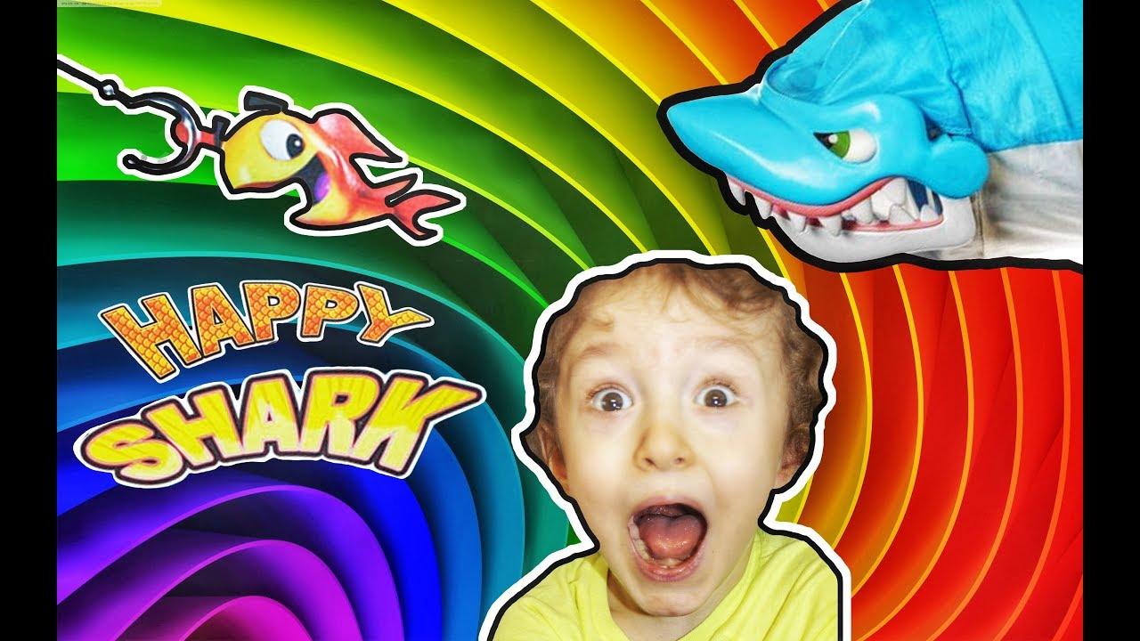 Челлендж Игра Голодная Акула или Акуломания! 0+ | Азартная Рыбалка Игра