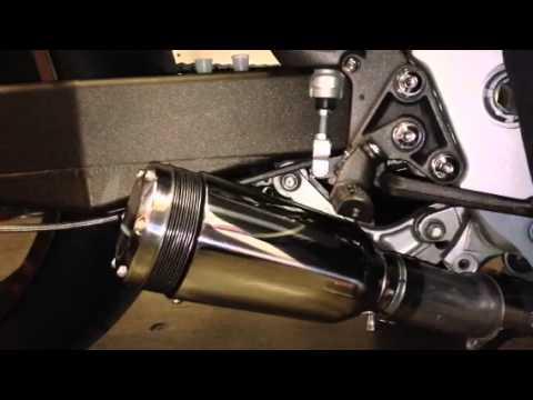 Suzuki Hayabusa 4-1 four into one Micron Header with XB08 Extremeblaster exhaust
