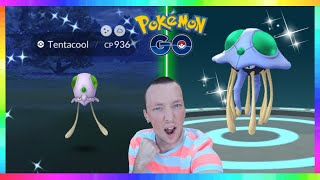 LIVE🔴 NEW SHINY TENTACOOL RELEASE - SUPER EFFECTIVE WEEK EVENT in Pokemon Go! Road to 25k Subs