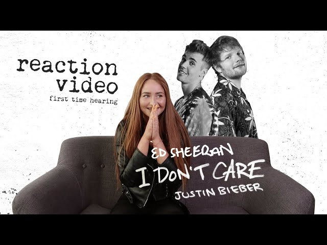 CZY LITTLEMOOONSTER96 ZAGRA W KLIPIE EDA SHEERANA I JUSTINA BIEBERA - I DON'T CARE? [REACTION VIDEO]