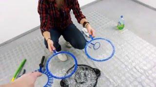 Как делать мини мастер класс по мыльным пузырям