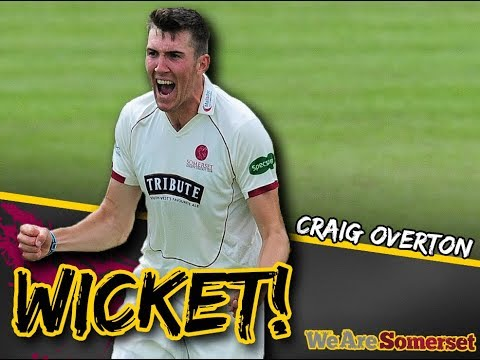Craig Overton takes incredible hat-trick against Nottinghamshire