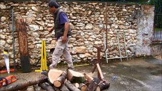 Le Master Bloque Chevalet Pour Tronçonnage , Saw Horse Logs Cutting Holder For Wood Www.ecoteco.fr