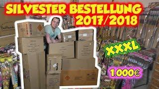 FETTES 1.000€ FEUERWERK UNBOXING | Toschpyro | SILVESTER HAUPTBESTELLUNG 2017/2018