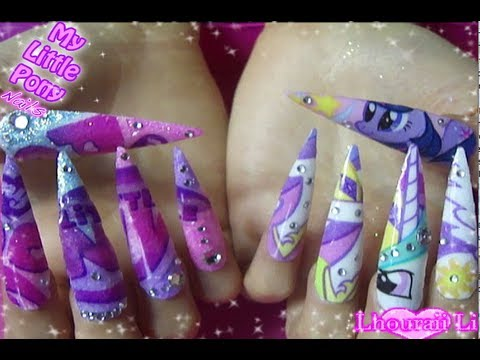 My little pony nails youtube prinsesfo Gallery