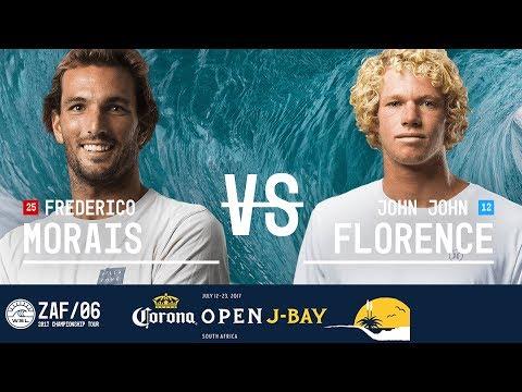 Frederico Morais vs. John John Florence - Quarterfinals, Heat 2 - Corona Open J-Bay 2017