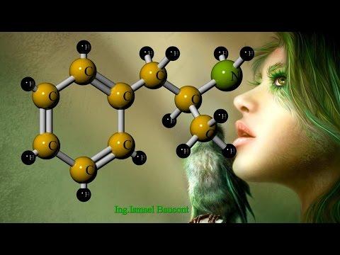 Amphetamine: 3D Molecule