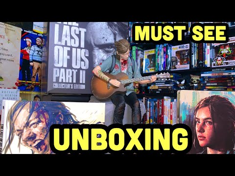 Unboxing The Last Of Us Part 2 Collector's Edition