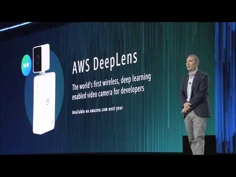 AWS re:Invent 2017 -  Announcing AWS DeepLens