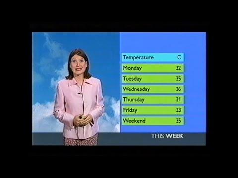 BBC Weather August 2003 heatwave