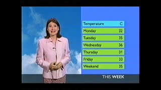 Repeat youtube video BBC Weather August 2003 heatwave