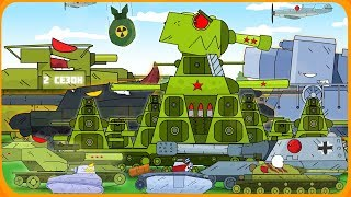 All series Steel monsters Cartoons about tanks 2 season
