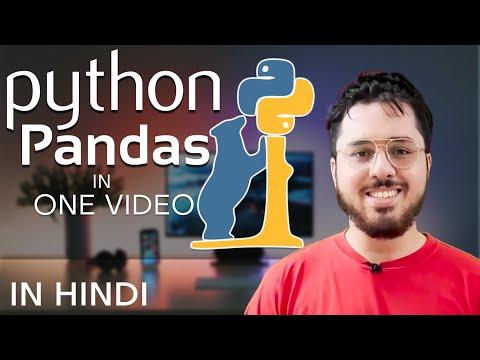 Python Pandas Tutorial In Hindi