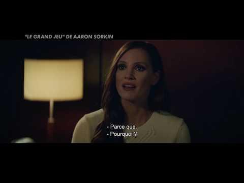 Le Grand Jeu de Aaron Sorkin avec Jessica Chastain - Débat cinéma CANAL+ streaming vf