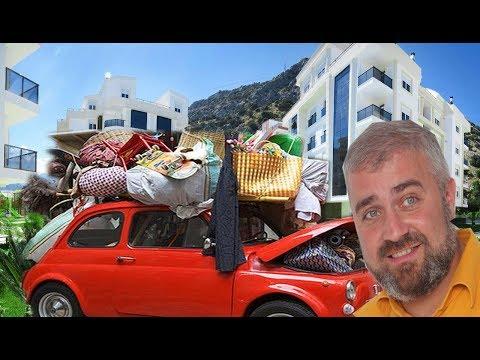 Квартирный переезд в Турции. How moving in Turkey. №51 #NazarDavydov