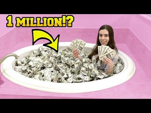 1 MILLION DOLLARS BATH CHALLENGE!!!