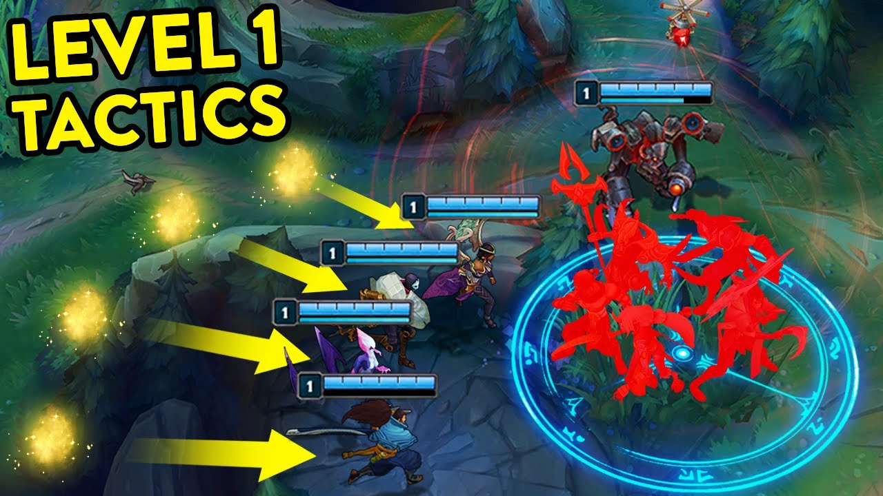 Download CRAZIEST LEVEL 1 MOMENTS IN LEAGUE OF LEGENDS #5